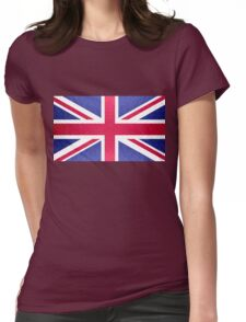 The Union Jack Flag Womens Fitted T-Shirt
