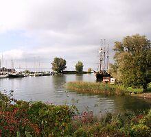 Harbour Muiden by Jo Nijenhuis