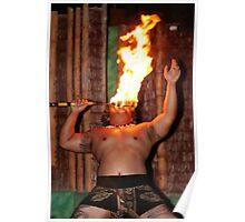 Hawaiian Flamer Thrower Poster