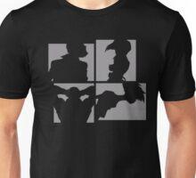 Cowboy Bebop Silhouettes. Unisex T-Shirt