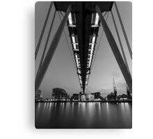 Reaching over Canvas Print