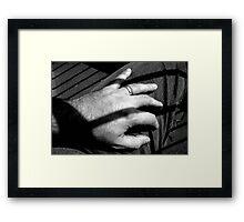 bodyPARTS ... hand Framed Print