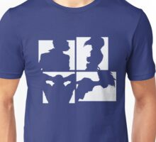 Cowboy Bebop Silhouettes (2nd color). Unisex T-Shirt