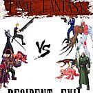 Final Fantasy VS Resident Evil by ramox90