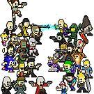 Epic 8 bit Battle! by ramox90