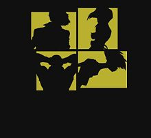 Cowboy Bebop Silhouettes (3nd color). Unisex T-Shirt