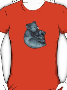Koalas - a cute hand drawn illustration of a mother koala and her baby T-Shirt