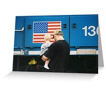See the train Greeting Card