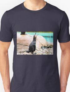 Penguin calling ! Unisex T-Shirt