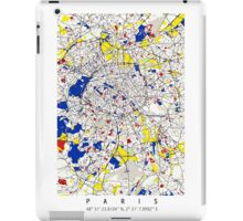 Paris - Mondrian Style iPad Case/Skin