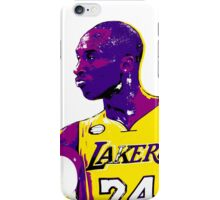 Kobe Stencil Design iPhone Case/Skin