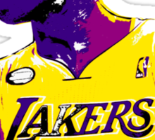 Kobe Stencil Design Sticker