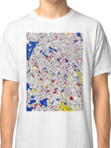 Paris - Mondrian Style Classic T-Shirt