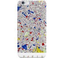 Paris - Mondrian Style iPhone Case/Skin