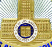 LAPD Detective Badge Sticker