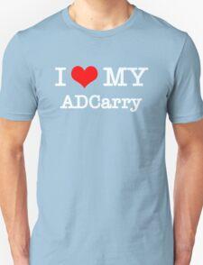 I Love My ADCarry - Black  Unisex T-Shirt