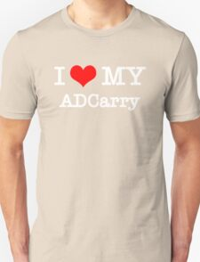 I Love My ADCarry - Black  Unisex T-Shirt