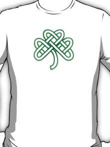 Celtic Fourl Leaf Clover T-Shirt