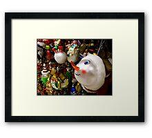 I Want The Snowman! Framed Print