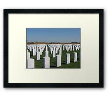 In Honor Of... Framed Print