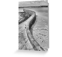 St Malo Pier Greeting Card