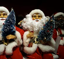 Will The Real Santa Claus Please Stand Up! by Pamela Hubbard