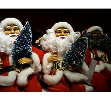 Will The Real Santa Claus Please Stand Up! Photographic Print