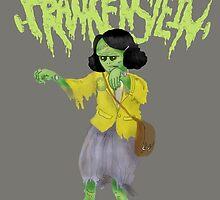 Anne Frankenstein by ladypuns