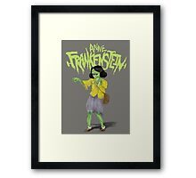 Anne Frankenstein Framed Print
