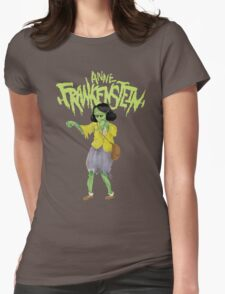 Anne Frankenstein Womens Fitted T-Shirt