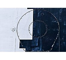 Abstract art of the space era. Lines And Circles 2 Photographic Print