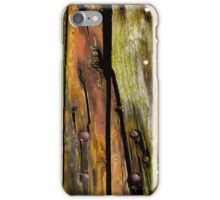 Wooden boat  iPhone Case/Skin