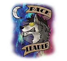 Pack Leader- Werewolf Space Design Photographic Print