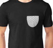 Whisker Faux Pocket T-Shirt Unisex T-Shirt