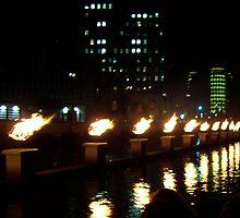 Burning River by Cyndi Keeley