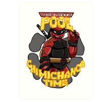 Teenage Mutant Ninja Pool! Art Print