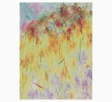 Golden Reeds-Available As Art Prints-Mugs,Cases,Duvets,T Shirts,Stickers,etc Kids Tee