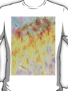 Golden Reeds-Available As Art Prints-Mugs,Cases,Duvets,T Shirts,Stickers,etc T-Shirt