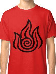 Firebending Black Classic T-Shirt