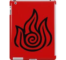 Firebending Black iPad Case/Skin