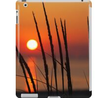 Sunset and Dune Grasses iPad Case/Skin