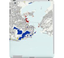 Rio de Janeiro Piet Mondrian Style City Street Map Art iPad Case/Skin