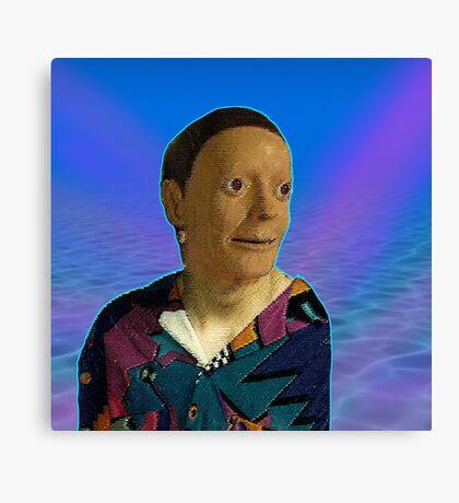 Funny Awkward Dummy Canvas Print
