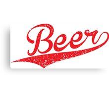 VINTAGE Beer Canvas Print