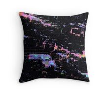 Cyber Space Throw Pillow