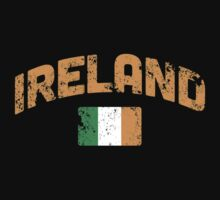 VINTAGE Irish Flag by holidayswaggs
