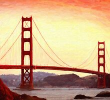 Golden Gate Bridge, San Francisco by Adam Asar