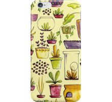 Indoor Plants and Pots iPhone Case/Skin