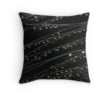Raindrop Rest Stop Throw Pillow