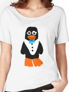 Petey the Penguin Women's Relaxed Fit T-Shirt